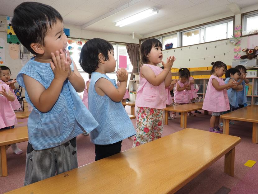 2歳児幼児教室 もも組